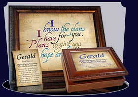 BM-SM03, Name Meaning Bookmark, Personalized with Bible Verse or Famous Quote,, personalized, simple parchment Gerald