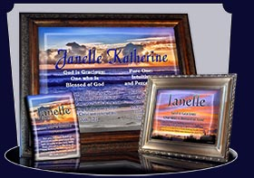 BM-SS22, Name Meaning Bookmark, Personalized with Bible Verse or Famous Quote,, personalized, janelle sunset