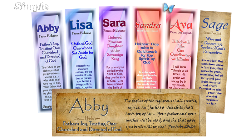 Personalized Name Meaning Bookmarks: The Ultimate Bookmark Site